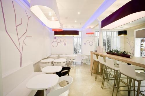 Photographe d'architecture décoration du restaurant Côme réalisée pour l'agence de design Groupe Idoine à Paris | Philippe DUREUIL Photographie