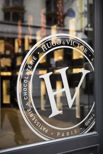 Photographie d'une boutique Hugo & Victor à Paris . Photo d'architecture commerciale réalisée pour Yann Montfort, architecte d'intérieur & Designer. | Philippe DUREUIL Photographie
