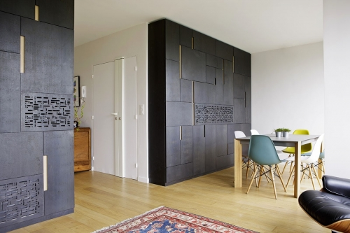 Photographie de décoration intérieure réalisée pour l'architecte Designer Thierry Bonne   Philippe DUREUIL Photographie