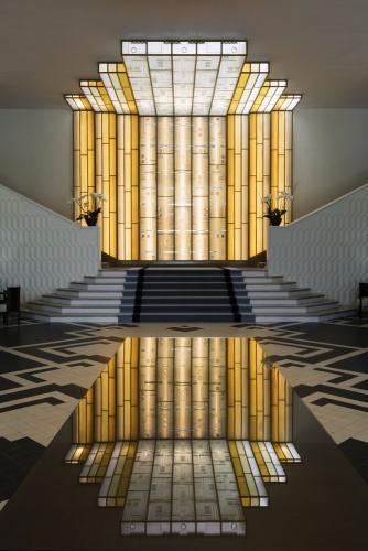 Photographie d'architecture intérieure - Hôtel le Splendid de Dax - Reportage réalisé pour l'architecte Sandrine Forais, Agence Kapzul & et la société Egis Bâtiment | Philippe DUREUIL Photographie