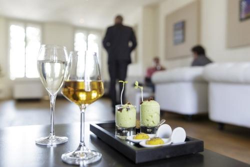 Photographie de décoration intérieure réalisée pour le restaurant gastronomique Le Lièvre Gourmand à Orléans | Philippe DUREUIL Photographie