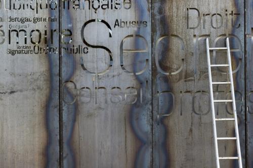 Photographie d'architecture réalisée pour l'architecte Thierry Bonne. Construction d'un office notarial en acier corten situé à Château-Thierry. | Philippe DUREUIL Photographie