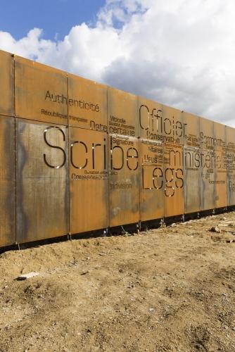 Reportage photographique sur la construction de l'Office Notarial Ast & Carcelle réalisé par l'architecte Thierry Bonne. | Philippe DUREUIL Photographie