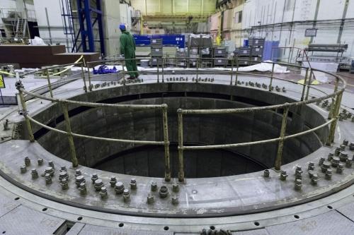 Puits du cœur du réacteur dans le hall 3 de la centrale nucléaire en démantèlement de Greifswald | Philippe DUREUIL Photographie