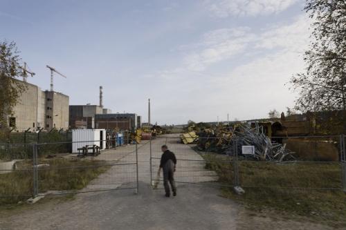 Chantier de démantèlement de la centrale nucléaire de Greifswald à Lubmin en Allemande. | Philippe DUREUIL Photographie