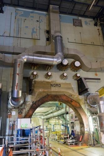 Galerie souterraine de la centrale nucléaire en déconstruction de Chooz A. | Philippe DUREUIL Photographie