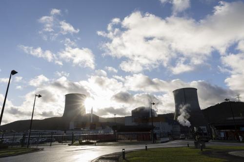 Centrale nucléaire en démantèlement de Chooz A | Philippe DUREUIL Photographie