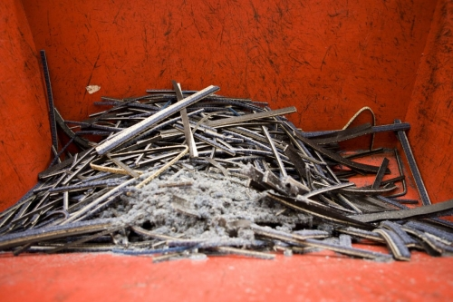 Traitement et recyclage des déchets industriels - Reportage photo développement durable réalisé pour Interface Flor | Philippe DUREUIL Photographie