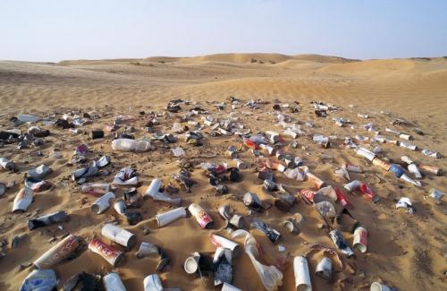 Pollution dans le désert | Philippe DUREUIL Photographie
