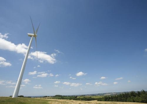 Éoliennes dans la nature | Philippe DUREUIL Photographie