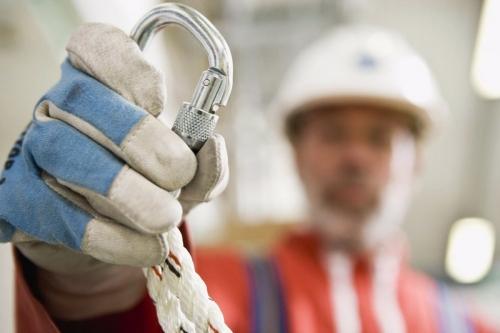 Sécurité et prévention au travail - Photo réalisée pour le groupe SOCOTEC - Stage de formation sécurité pour le travail en hauteur | Philippe DUREUIL Photographie