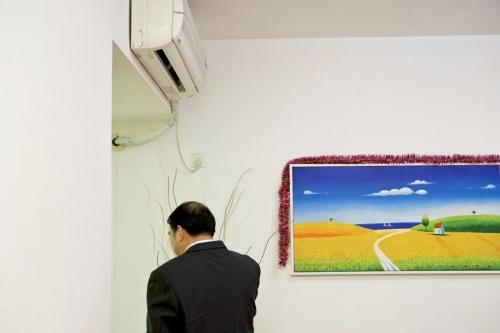 Climatisation et tableau dans un appartement | Philippe DUREUIL Photographie