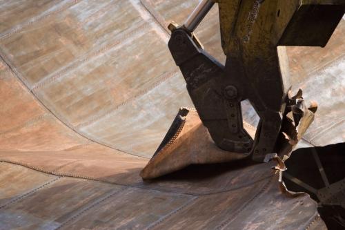 Démantèlement d'un gazomètre - Photo industrielle de reportage réalisée à Alfortville pour GRTgaz | Philippe DUREUIL Photographie