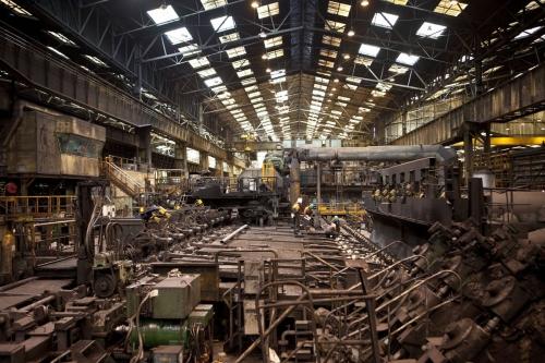 Photographie industrielle d'une aciérie réalisée pour le groupe Vallourec | Philippe DUREUIL Photographie