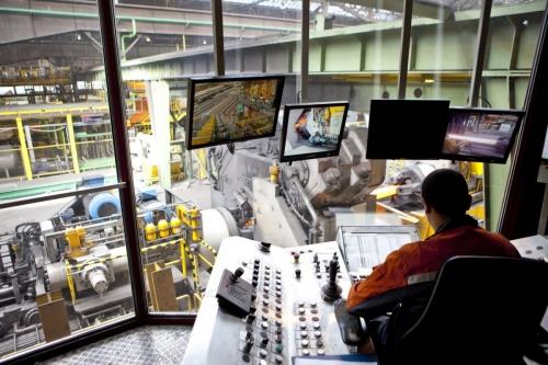 Photographie industrielle réalisée pour illustrer le rapport annuel de Vallourec | Philippe DUREUIL Photographie