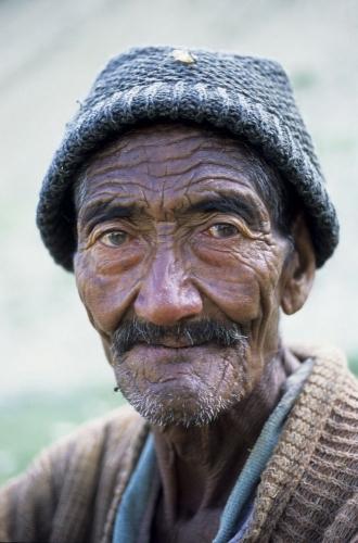 Portrait d'un vieil homme   Philippe DUREUIL Photographie