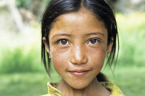 Portrait d'une jeune fille   Philippe DUREUIL Photographie