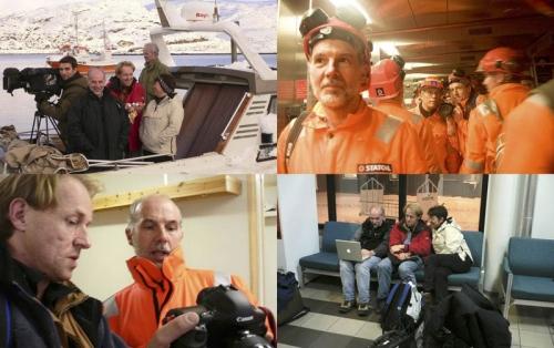 Reportage photographique industriel réalisé en Norvège pour Gaz de France | Philippe DUREUIL Photographie
