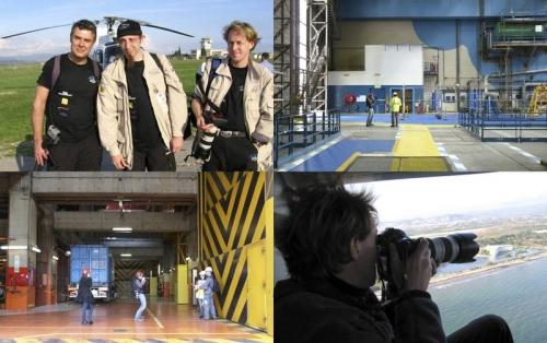 Reportage photo en hélicoptère sur le raid sportif du groupe Mark et photos industrielles dans une centrale nucléaire d'EDF pour le Groupe Socotec | Philippe DUREUIL Photographie