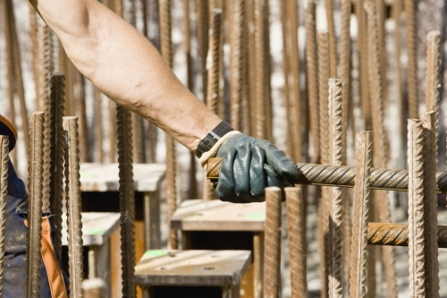 Men at work - EPI - Gants de protection. | Philippe DUREUIL Photographie