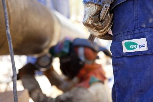 Photo industrielle d'hommes au travail réalisée pour GRTgaz | Philippe DUREUIL Photographie