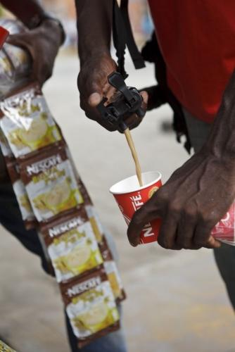 SFS Sampling Nescafé® Abidjan Côte d'Ivoire | Philippe DUREUIL Photographie