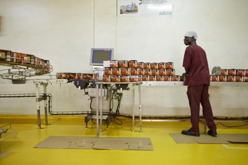 Reportage photographique industriel réalisé pour Nescafé® à Abidjan. | Philippe DUREUIL Photographie