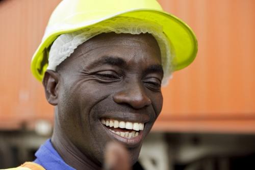 Portrait réalisé pour Nescafé® à Abidjan. | Philippe DUREUIL Photographie