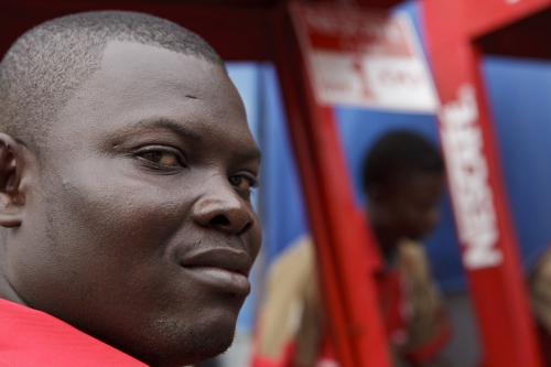 Portrait d'un pushcart, Accra, Ghana | Philippe DUREUIL Photographie
