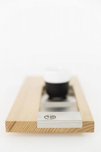 Photographie de packshot d'un objet design. Plateau de service à café dessiné par le designer Thierry Bonne. | Philippe DUREUIL Photographie