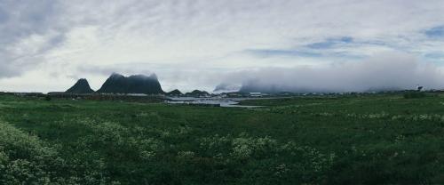 Panorama photographique grand format réalisé aux îles Lofoten en Norvège. | Philippe DUREUIL Photographie