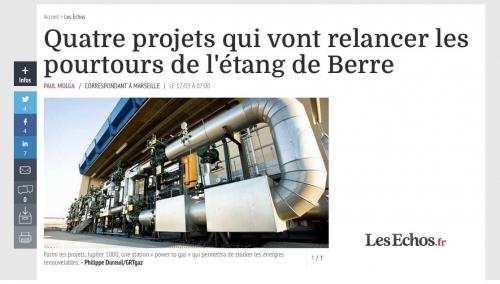 Photographie industrielle réalisée pour GRTgaz. La photo illustre un article paru sur le site LesEchos.fr | Philippe DUREUIL Photographie