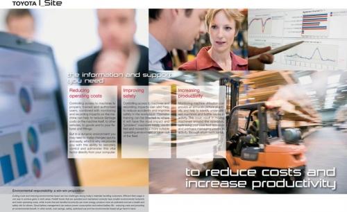 Photos corporate réalisés pour illustrer une brochure commerciale B to B - Annonceur : Toyota Material Handling Europe - Agence : Thélème - DA: Brigitte Chenu | Philippe DUREUIL Photographie