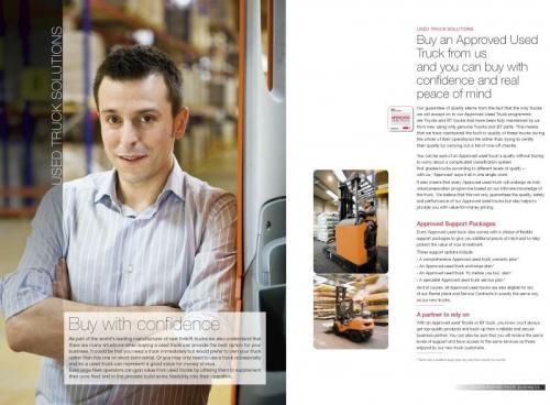 Photo de portrait corporate réalisé pour illustrer une brochure commerciale B to B - Annonceur : Toyota Material Handling Europe - Agence : Thélème - DA: Brigitte Chenu | Philippe DUREUIL Photographie