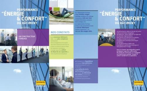 Dépliant commercial Eco-Offres - Annonceur : Spie batignolles - Agence : Thélème - DA : Brigitte Chenu - Photographe d'architecture : Philippe Dureuil | Philippe DUREUIL Photographie