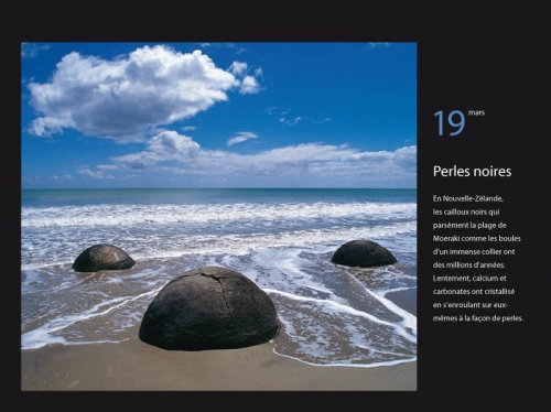 Photo de paysage parue dans le calendrier GEO 365 jours au bout du monde - Éditeur : Play Bac - Diffusion : Hatier | Philippe DUREUIL Photographie