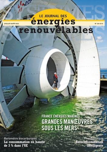 Couverture du journal des énergies renouvelables | Philippe DUREUIL Photographie