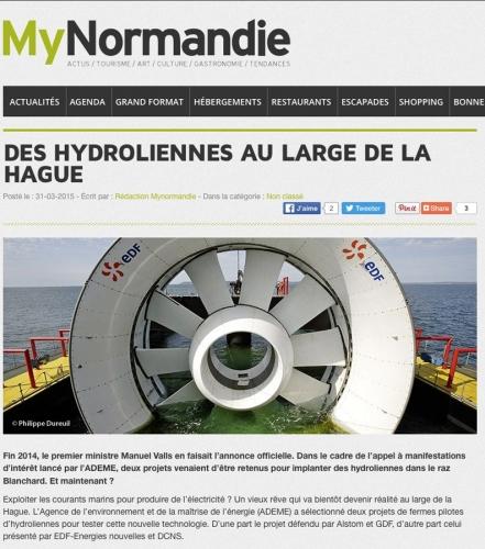 Reportage industriel sur l'hydrolienne l'Arcouest conçu par EDF-Energies Nouvelles, DCNS et Openhydro | Philippe DUREUIL Photographie