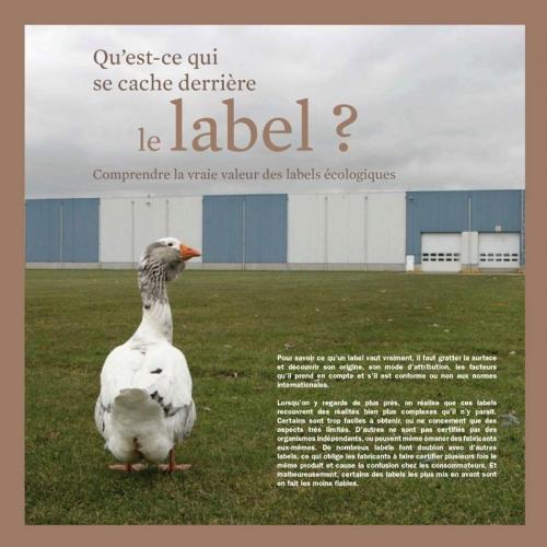 Photo d'une oie illustrant une brochure développement durable - Annonceur : InterfaceFLOR - Agence : Sidièse - DC : Guillaume Müller | Philippe DUREUIL Photographie