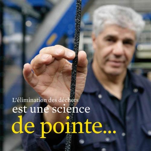 Photo illustrant le recyclage des déchets dans une brochure développement durable - Annonceur : InterfaceFLOR - Agence : Sidièse - DC : Guillaume Müller | Philippe DUREUIL Photographie
