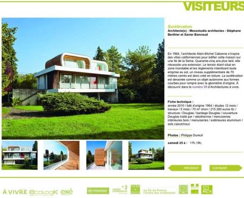 Photo d'architecture - Architectes : Stéphane Berthier et Xavier Bonnaud, agence MESOSTUDIO | Philippe DUREUIL Photographie