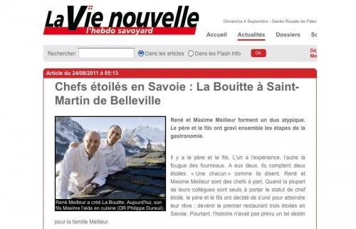 Site Internet de La vie nouvelle | Philippe DUREUIL Photographie