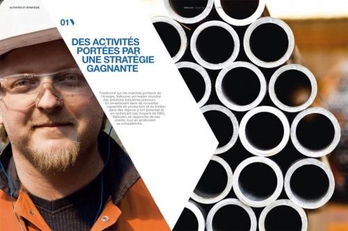 Agence : Sequoia Makheia Group - DC : Benoît Nast - DA : Claire Zimmermann - Photos industrielles réalisées pour illustrer le rapport annuel Vallourec | Philippe DUREUIL Photographie
