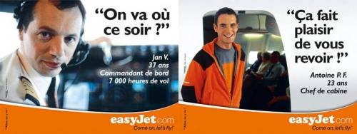 Annonceur : EasyJet Agence : L'agence libre Directeur de création : Fabrice Rondon | Philippe DUREUIL Photographie