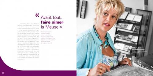Annonceur : Conseil Général de la Meuse - Agence : HORIZON BLEU - Directrice artistique : Valérie Brun - Photographe de portraits : Philippe Dureuil | Philippe DUREUIL Photographie