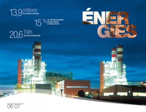 Photographie d'architecture industrielle réalisée pour illustrer un rapport annuel Gaz de France | Philippe DUREUIL Photographie