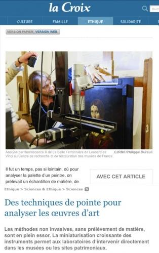 Photographie de reportage commandée par le C2RMF, Centre de recherche et de restauration des musées de France. | Philippe DUREUIL Photographie