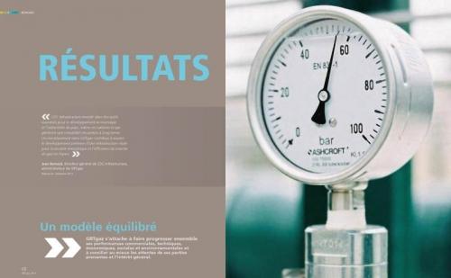 Rapport Annuel Développement Durable - Annonceur : GRTgaz - Agence : Créapix - Photographe de reportage développement durable : Philippe Dureuil | Philippe DUREUIL Photographie