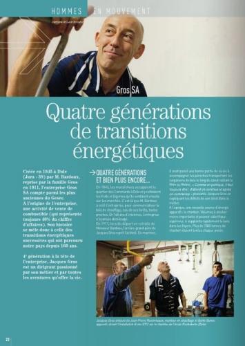 Reportage photo dans l'entreprise Gros SA commandé par Gesec Magazine | Philippe DUREUIL Photographie
