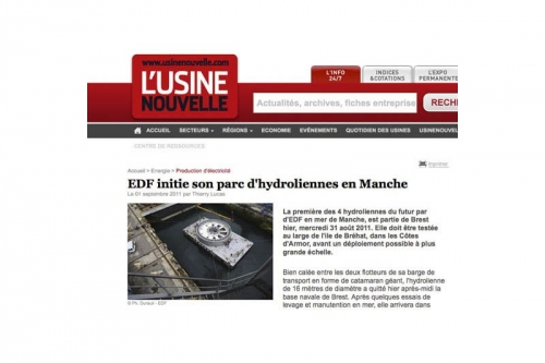 Photo industrielle illustrant le site Internet de l'Usine Nouvelle | Philippe DUREUIL Photographie